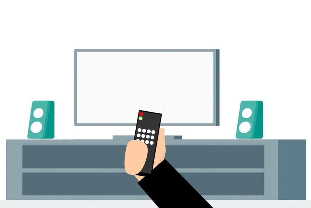 remote, control, screen